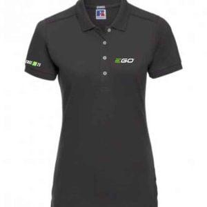 Ego Power Plus Ladies Polo Black 566F