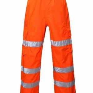Lode Hi Vis Orange Overtrousers – HV10
