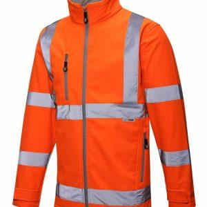 Lode Hi Vis Soft Shell Jacket – HVC10