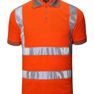 Lode Hi Vis Short Sleeve Polo – HVS01-PSS