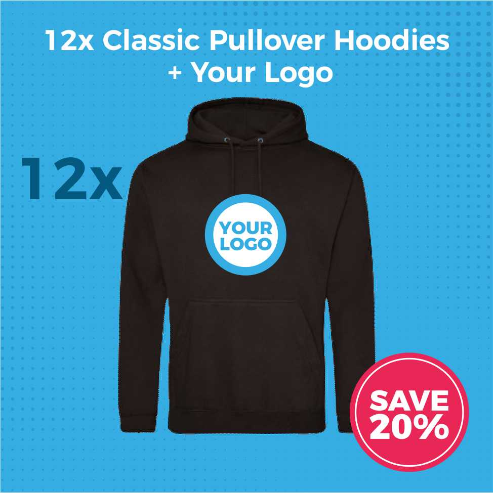 JH001 12pc Hoodies Deal - Product Image