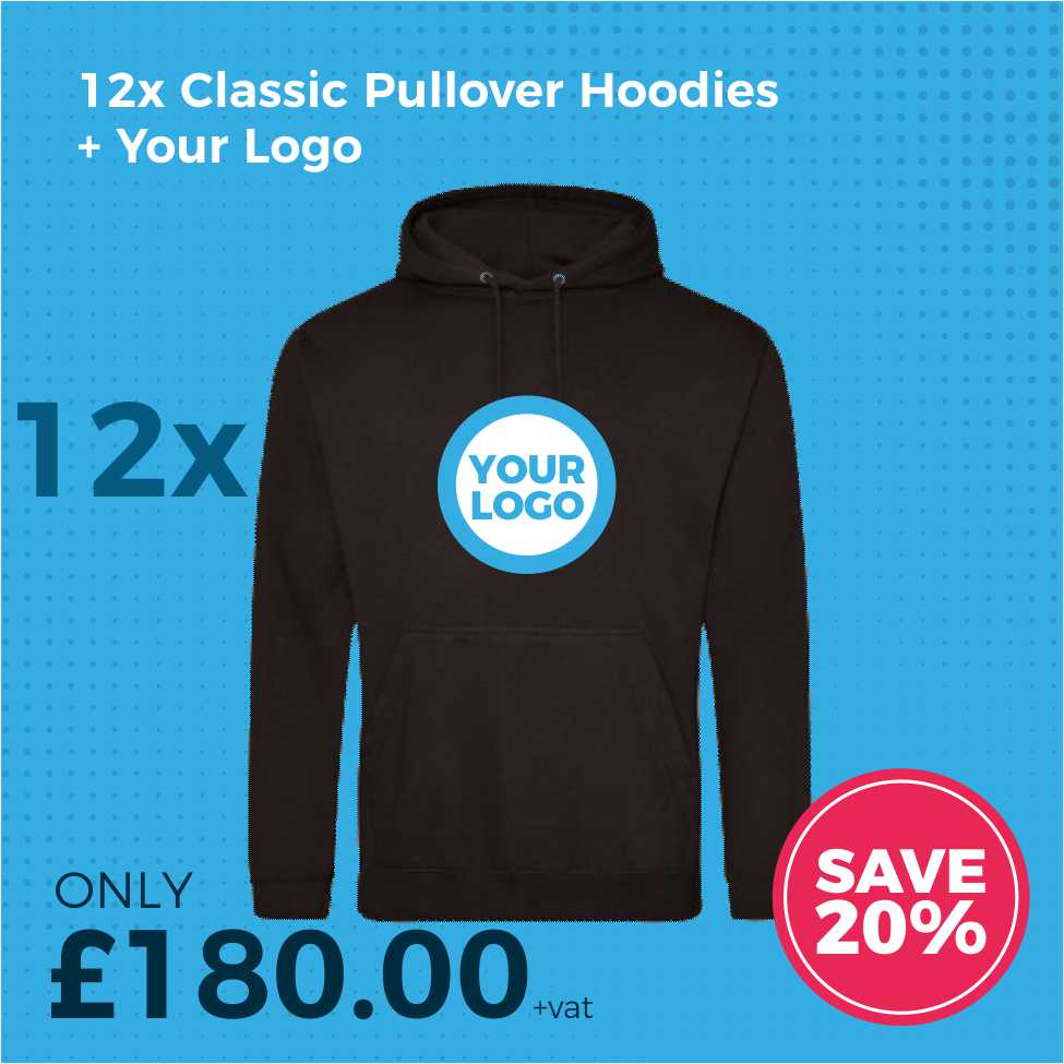 JH001 12pc Hoodies Deal