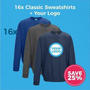 JH030 16pc Sweatshirts Deal - Product Image