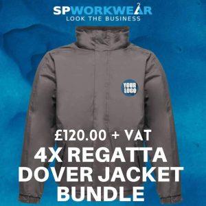 Regatta Dover Jacket Bundle x4