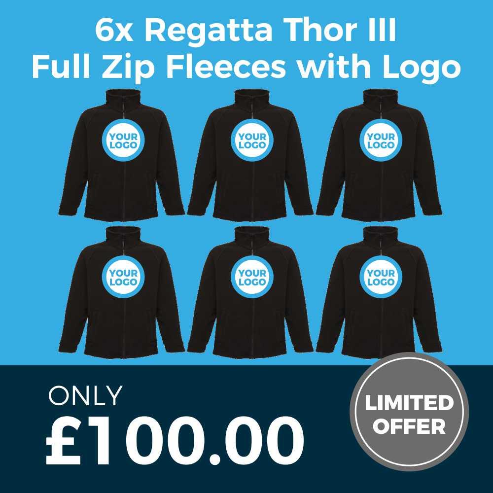 Regatta RG122 Fleece - 6 Piece Deal