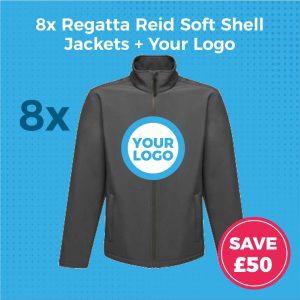 Regatta Reid RG089 8pc Softshell Deal - Product Image