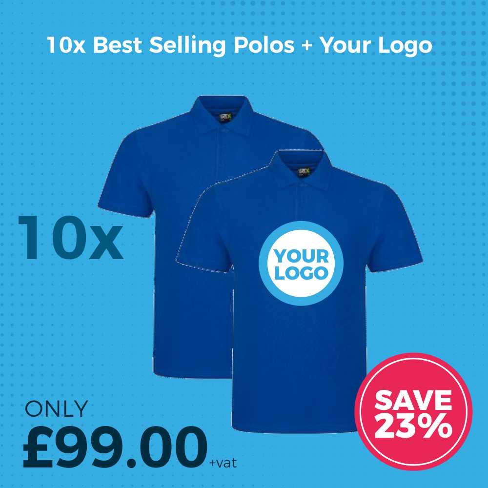 10x Polo Shirt Deal Ad