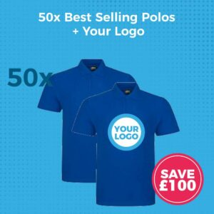 50x Polo Shirt Deal Ad - Product Image