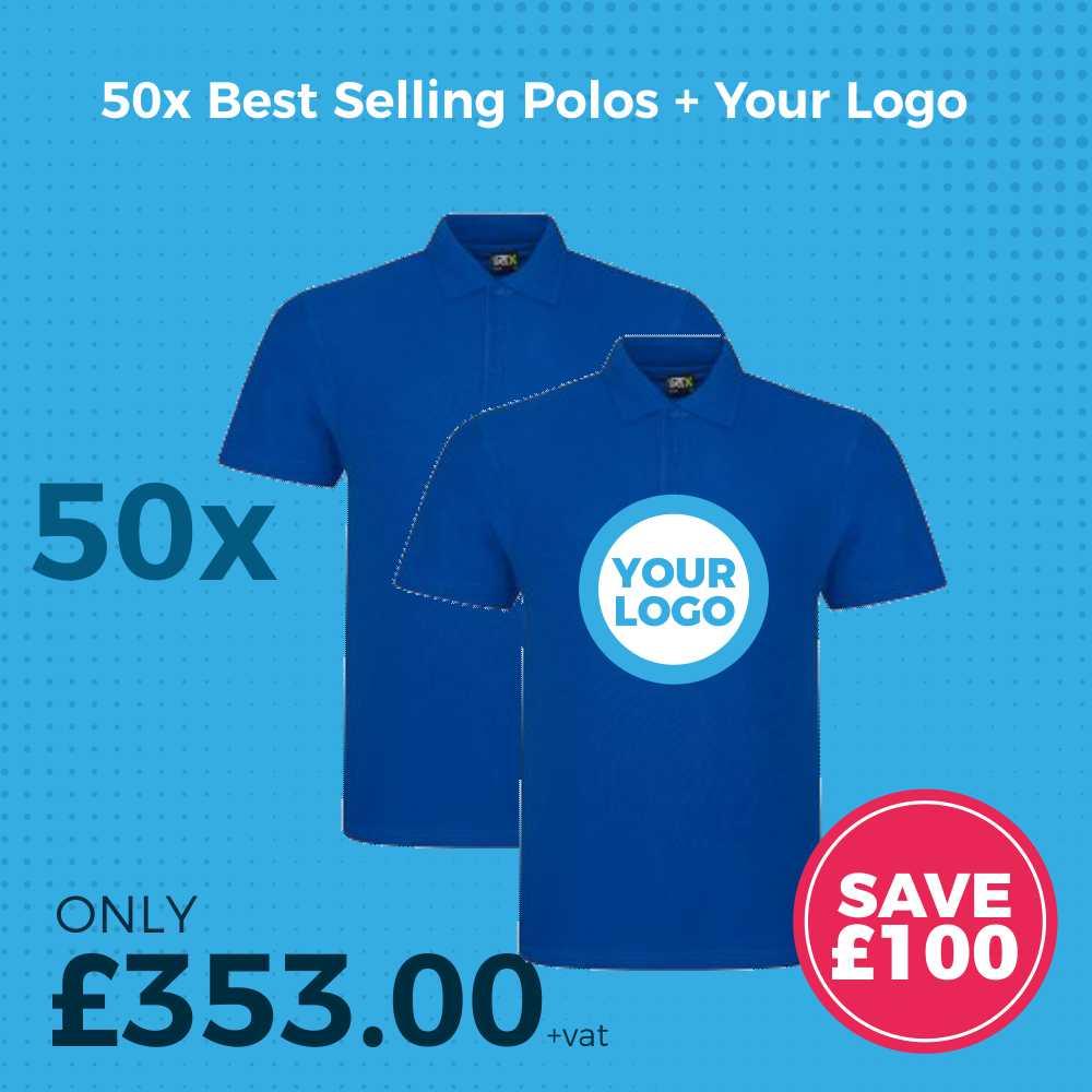 50x Polo Shirt Deal Ad