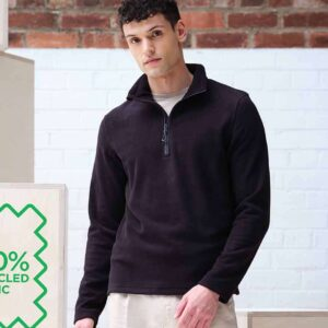 RG2102 Regatta Honestly Made Recycled Half Zip Fleece