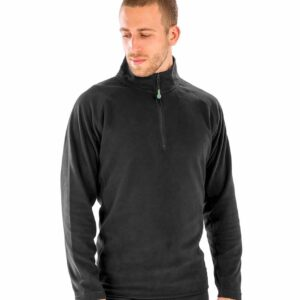RS905 Result Genuine Recycled Zip Neck Micro Fleece