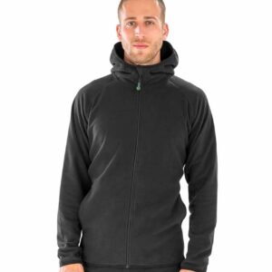 RS906 Result Genuine Recycled Hooded Micro Fleece Jacket
