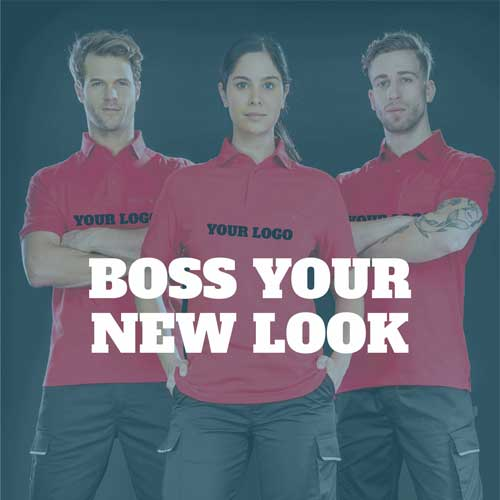 Boss your new look