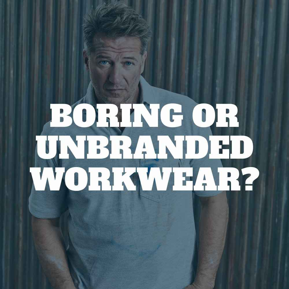 Boring or unbranded workwear