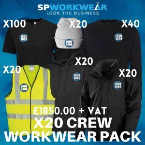 20 Crew Workwear Pack