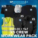 5 Crew Workwear Pack