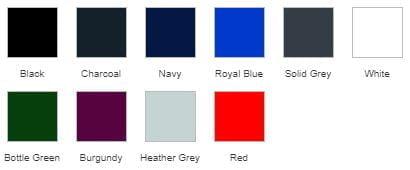 RX151 T-Shirt Colours