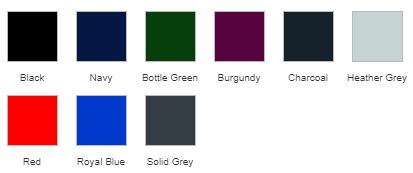 RX350 Hoodie Colours